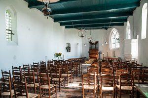 Interieur Nederlands Hervormde kerk te Fransum (Gr)